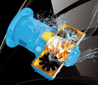 水潤滑無油空壓機