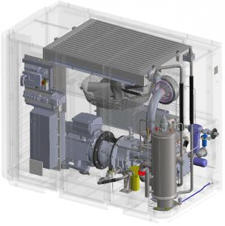 無油/水壓縮機